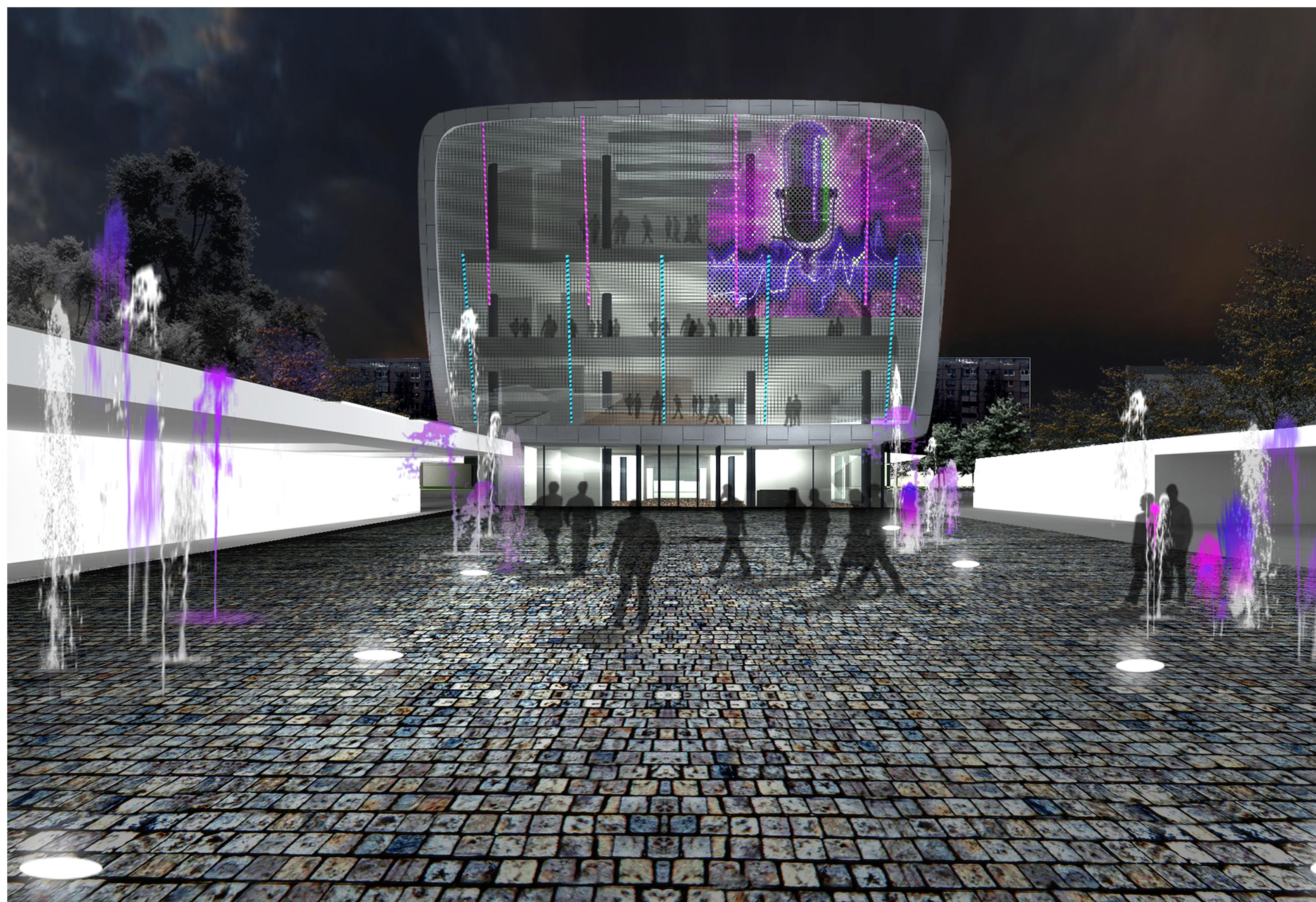 Cum ar fi arătat Centrul Cultural European Favorit