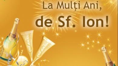 Photo of Urări de Sf. Ion pentru familie și prieteni. Mesaje haioase, felicitări și SMS-uri numai bune de trimis