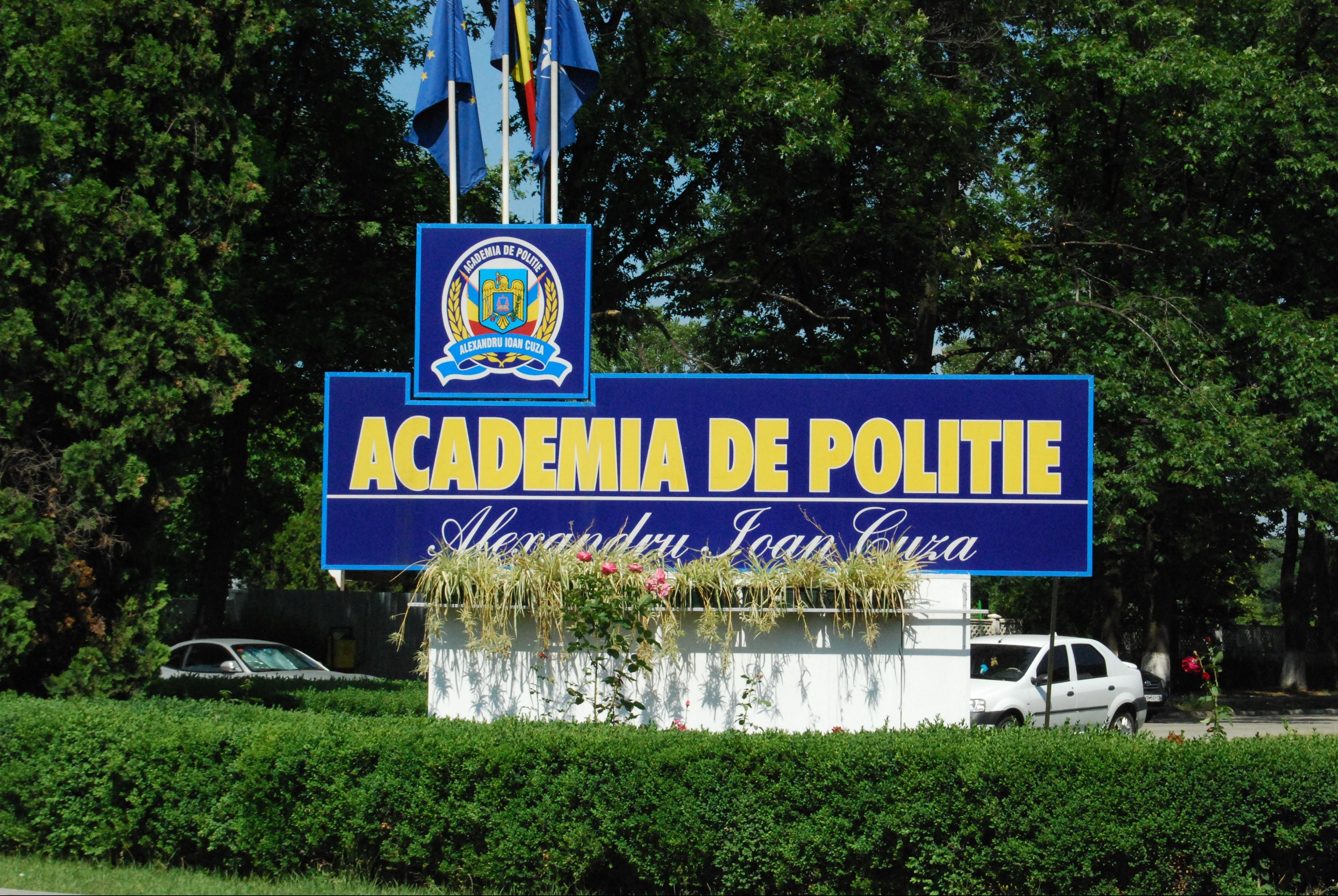 Calendar admitere Academia de Poliție București