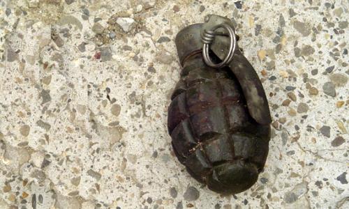 O ladă cu grenade de exercițiu a fost găsită într-un liceu din Sectorul 2