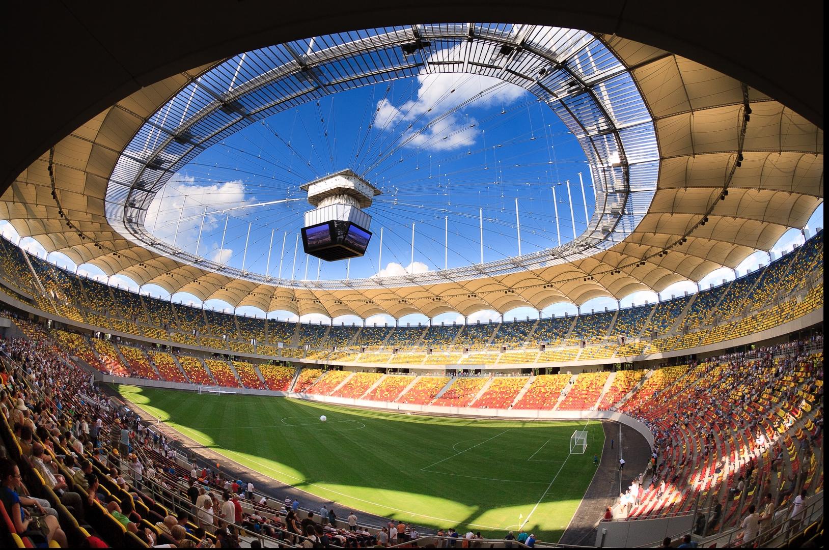 Pregătiți pentru EURO 2020. Gazonul de pe Arena Națională a fost schimbat. VIDEO