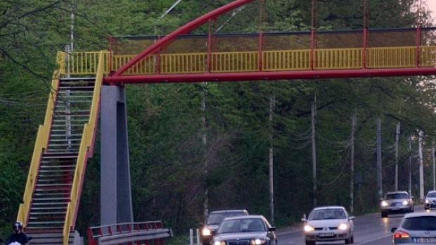 Centura Capitalei va avea zece pasarele pietonale noi, între A1 și DN1