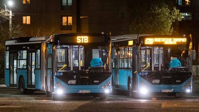 STB suspendă o stație de autobuz aflată pe Strada Iuliu Maniu