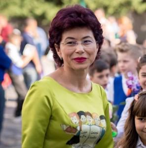 Învățătoarea Consuela Colțan