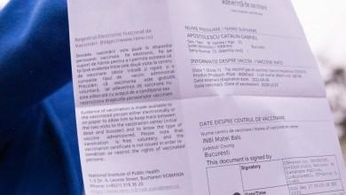 Photo of Certificat de vaccin obligatoriu pentru înscrierea la Universitatea din București