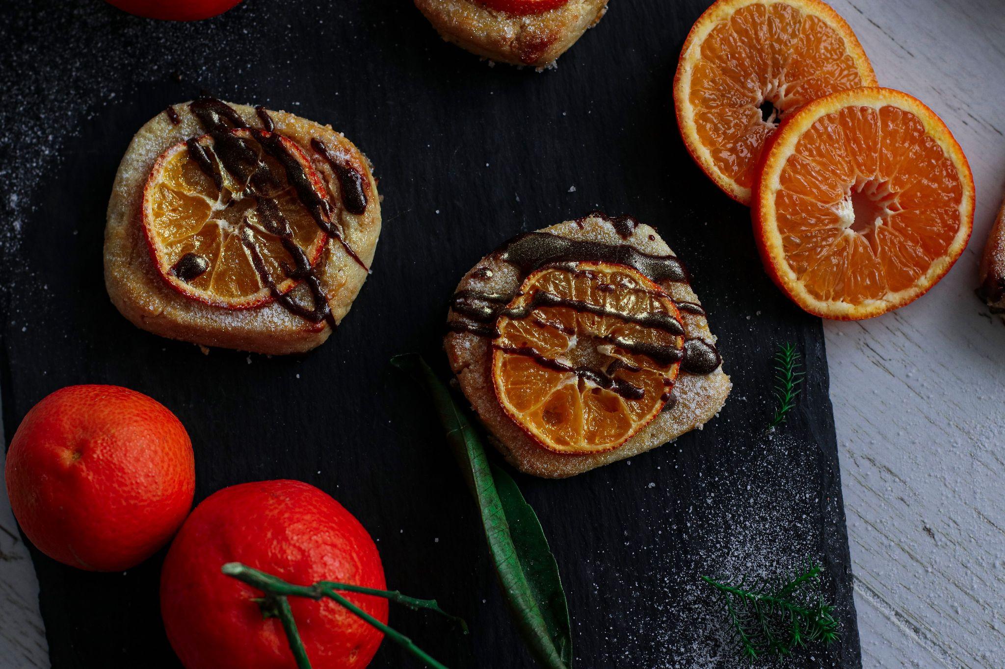 Biscuiți cu portocală