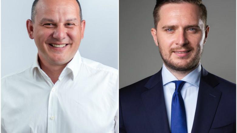 Horia Tomescu (USR PLUS) şi Stelian Bujduveanu (PNL) sunt noii viceprimari ai Capitalei