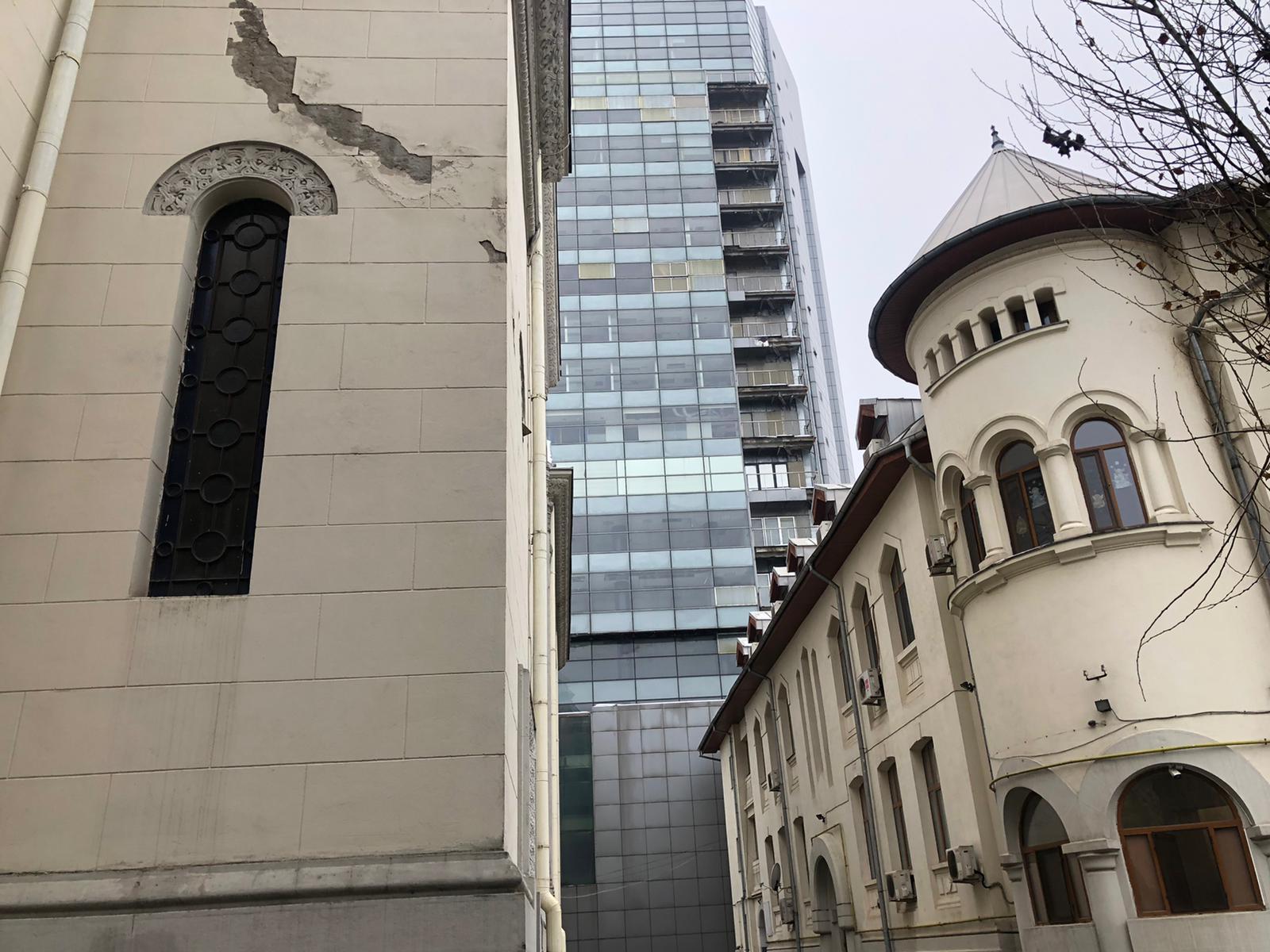 biserica, armeneasca, bucuresti, bloc, turn