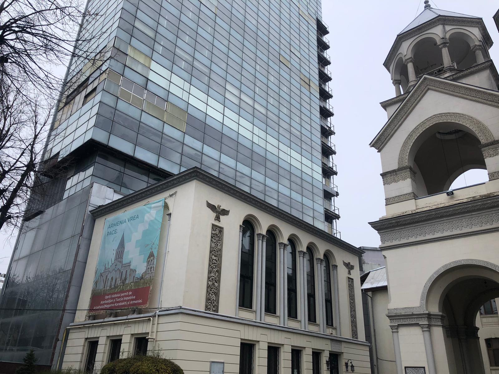 turnul, millenium, business center, biserica armeneasca