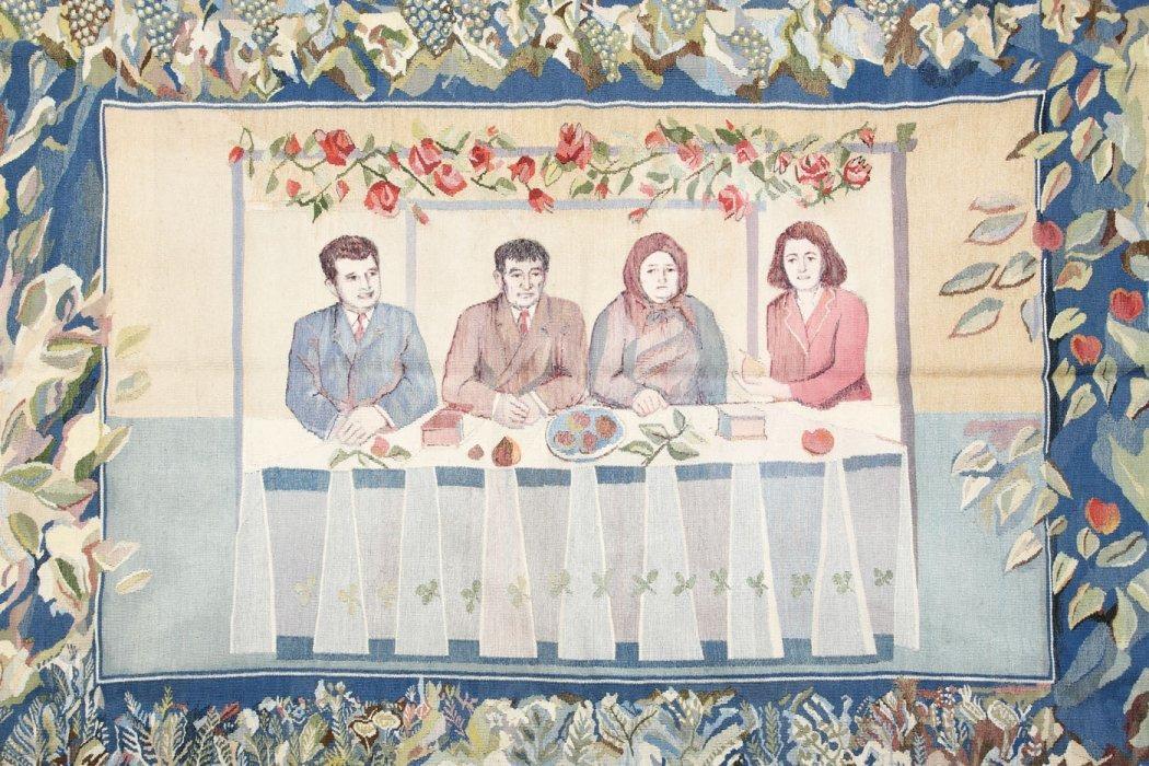 tapiserie, sotii, ceausescu