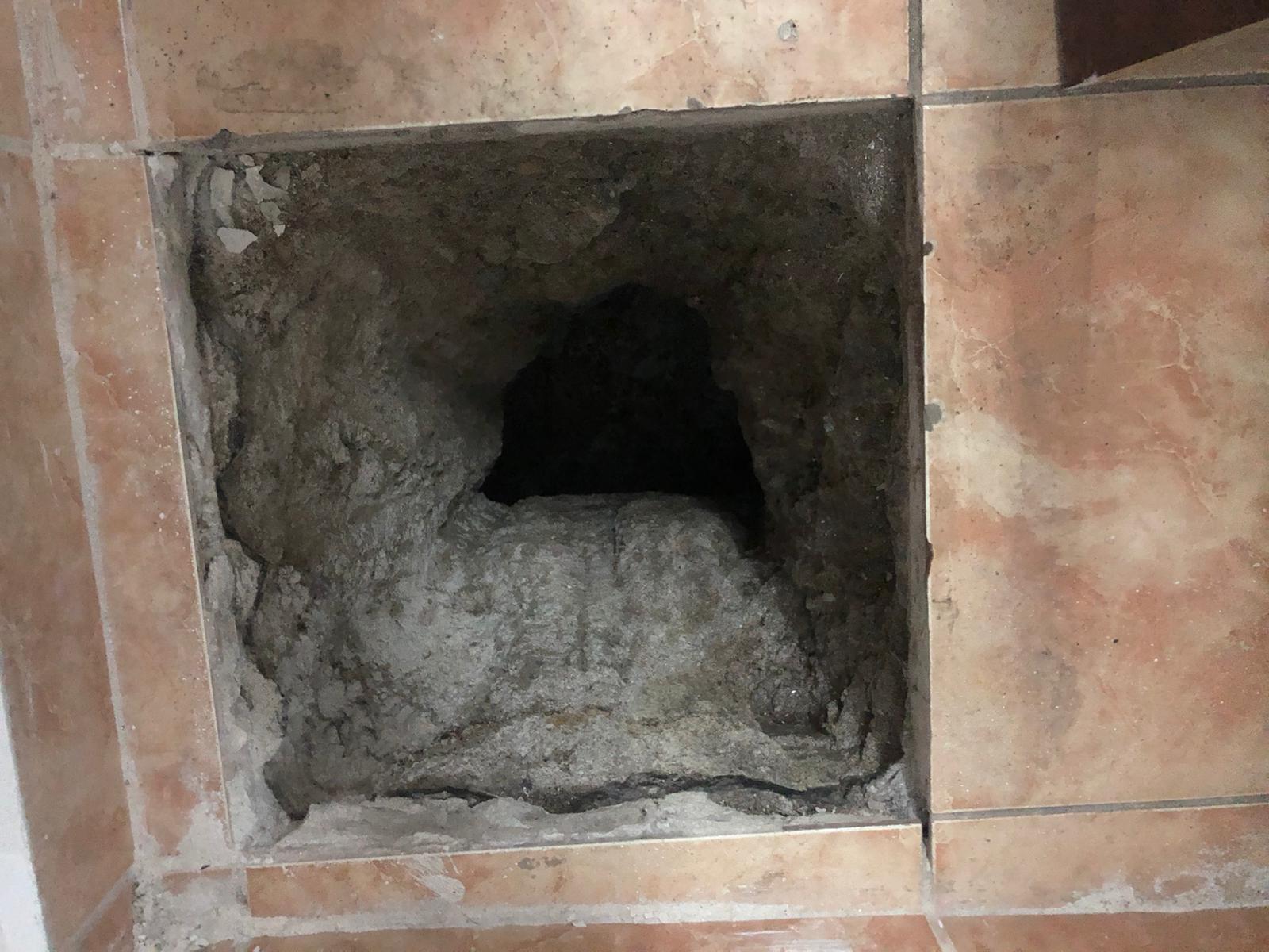 gaura, in subsolul, bisericii armenesti