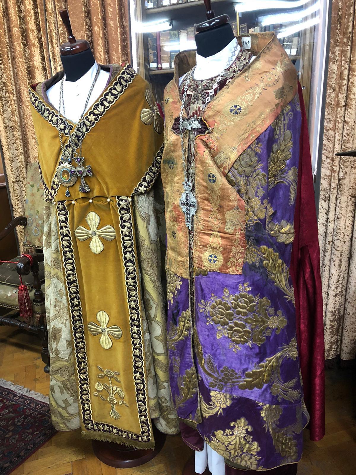 costume, de preot, armean