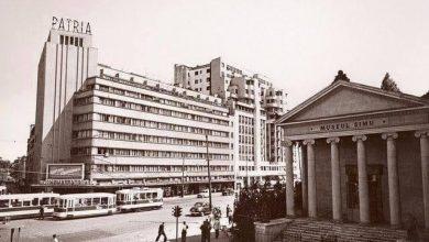 """Photo of În inima Bucureștiului, pe Magheru, era cândva un fabulos templu grecesc. Comuniștii l-au darâmat în '61 ca să pună în locul lui magazinul """"Eva"""""""