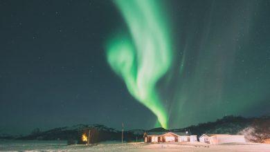 Photo of Imagini inedite! Aurora Boreală luminează întregul cer