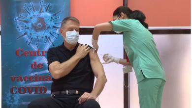 Photo of VIDEO I Klaus Iohannis, vaccinat anti-COVID-19 în public. Prima reacție a președintelui