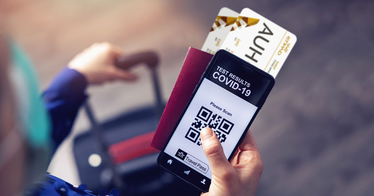 Aplicația care ar putea elimina carantina pentru cei care călătoresc cu avionul