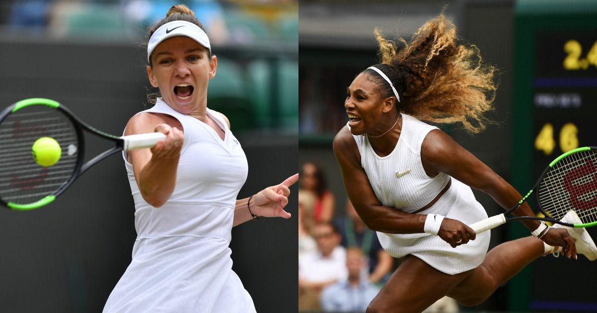 Simona Halep - Serena Williams