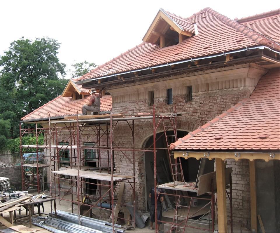 vila, stil, neoromanesc, in timpul, consolidarii