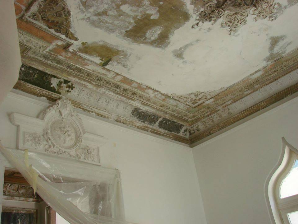 casa, budisteanu, detaliu, inainte de restaurare