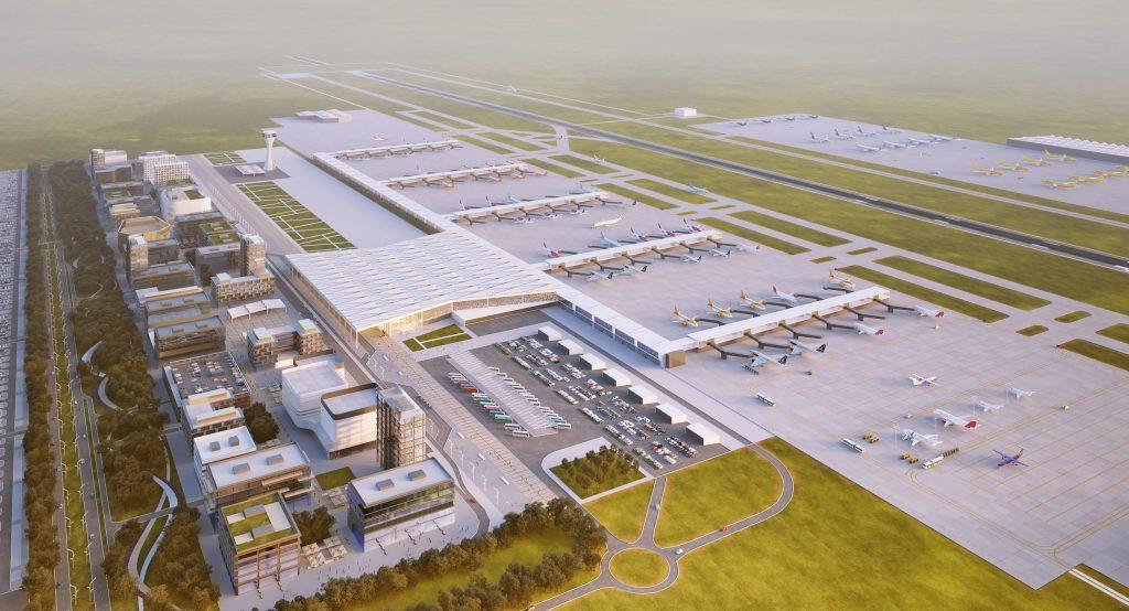 Noul aeroport din sudul Bucureștiului