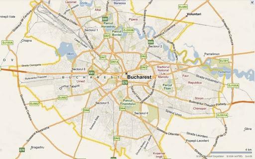 Bucureștiul va avea hartă geospațială
