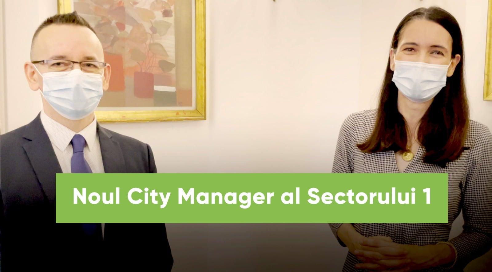 Ciprian Barna este noul City Manager al Sectorului 1