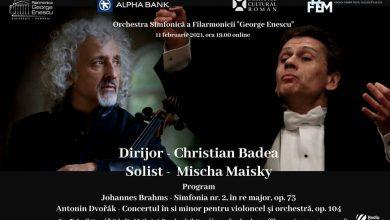 """Photo of Mischa Maisky și Christian Badea, doi artiști excepționali, în stagiunea online a Filarmonicii """"George Enescu"""""""