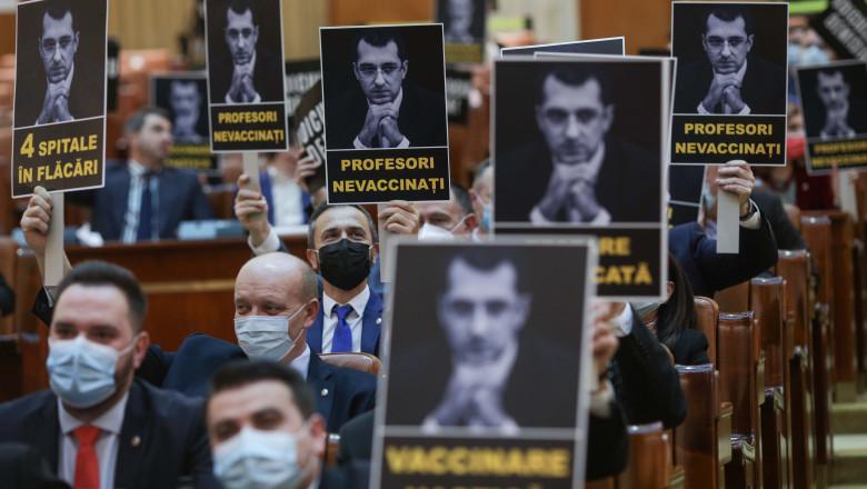 moțiunea simplă depusă de PSD împotriva ministrului Vlad Voiculescu