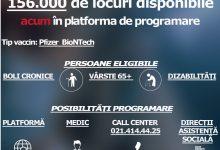 Photo of Programările pentru vaccinarea din București s-au epuizat într-o oră. Anunțul făcut de CNCAV