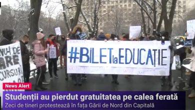 Photo of Studenții bucureșteni protestează azi în fața Gării de Nord