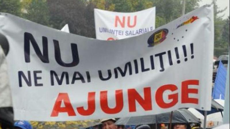 proteste în București