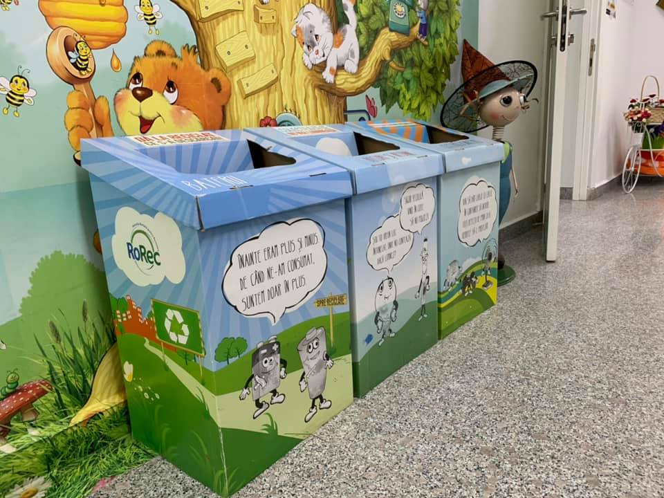 Copiii de la o grădiniță din Sectorul 3 învață de mici să recicleze