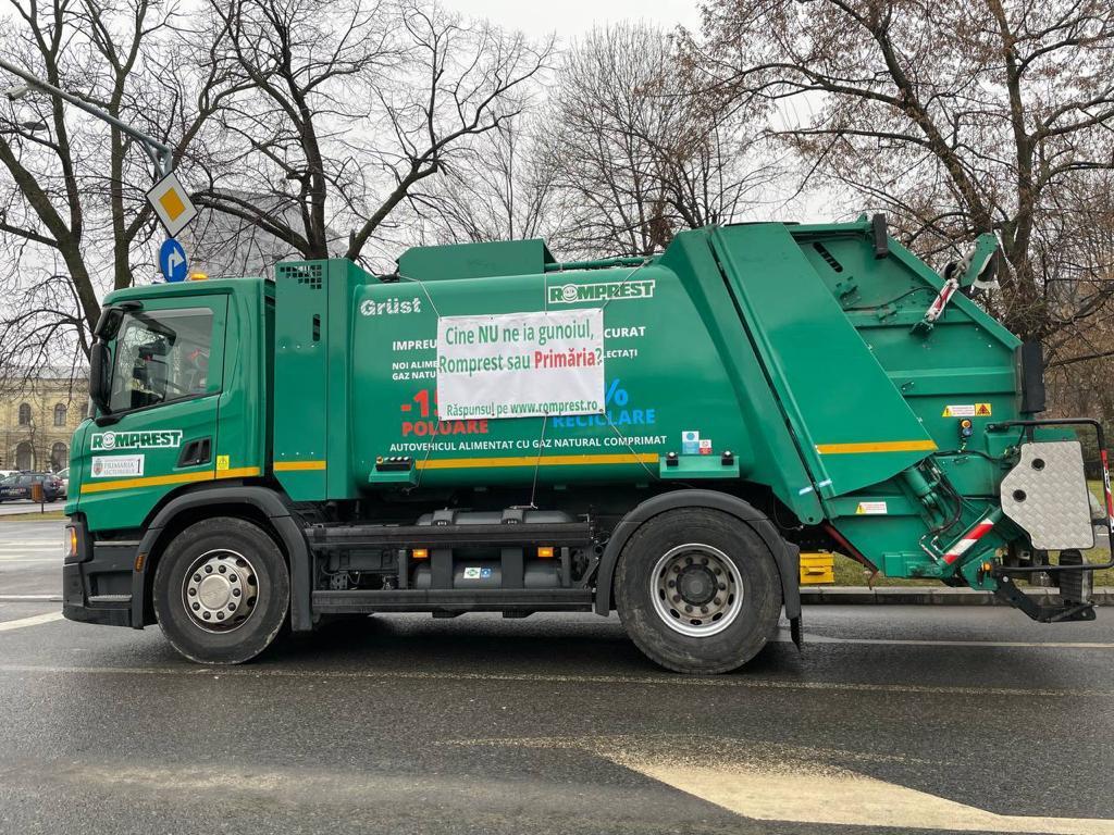se mai ridică gunoiul în Sectorul 1
