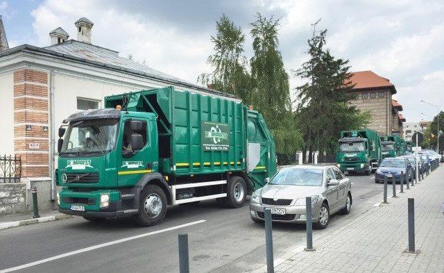 s-a ridicat gunoiul în Sectorul 1