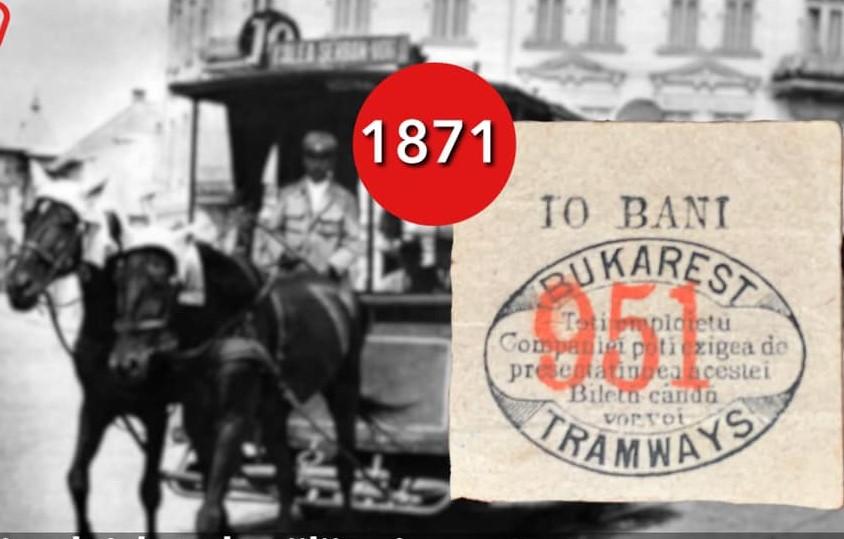 De când mergem cu tramvaiul în București