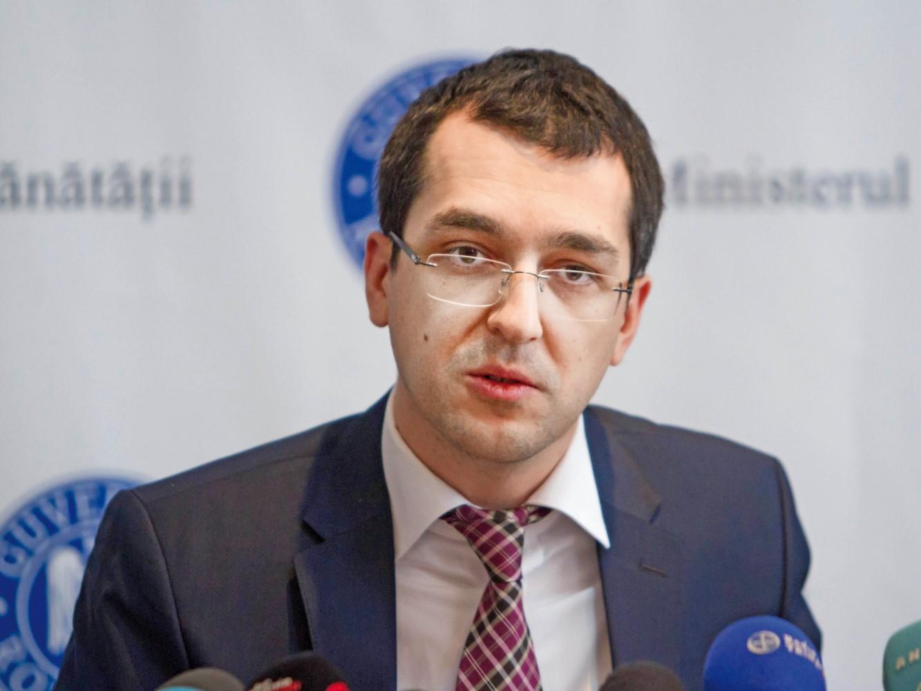Vlad Voiculescu a fost amendat