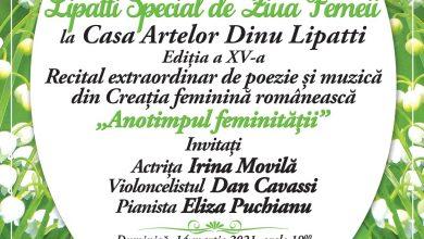 """Photo of La Casa Artelor Dinu Lipatti: """"Anotimpul feminității"""" – Recital Extraordinar de poezie și muzică"""