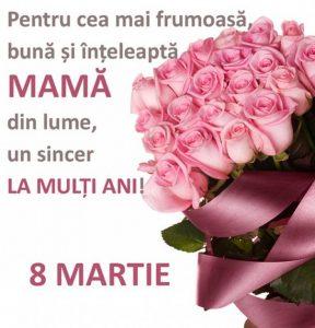Mesaje de Ziua Femeii pentru mamă