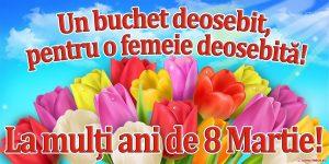 Mesaje de Ziua Femeii pentru soție