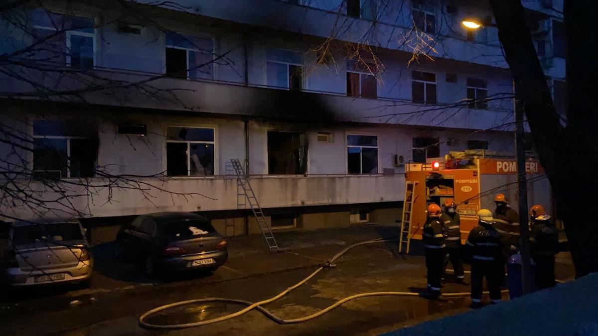 Raportul Corpului de Control după incendiul de la Matei Balș