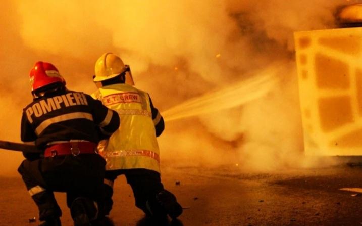 Incendiu la baza FCSB din Berceni