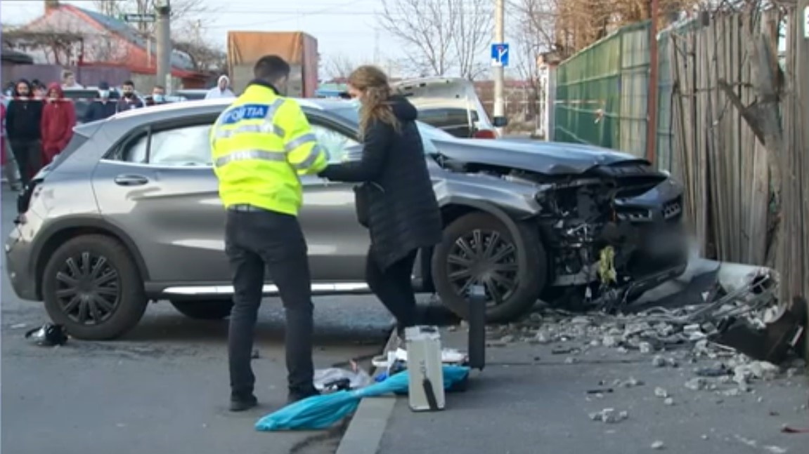 Șoferița care a ucis două fete în București consumase alcool
