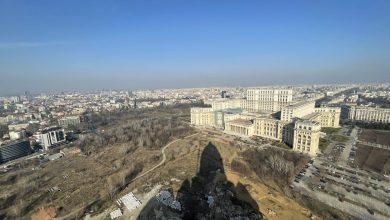 Photo of Bucureștiul văzut de sus, din turla Catedralei Mântuirii Neamului. Cele mai spectaculoase imagini dintr-un loc cu circuit închis