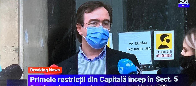 Decizia pentru București. Primele restricții se aplică în Sectorul 5