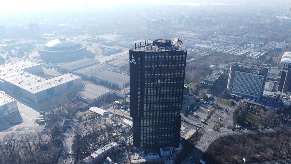 Top 10 cele mai înalte clădiri din București. Ana Tower