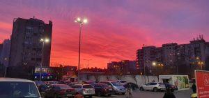 Apus spectaculos în București