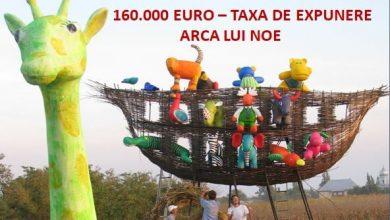 """Photo of 160.000 de euro daune pentru expunerea lucrării """"Arca lui Noe"""" în București"""