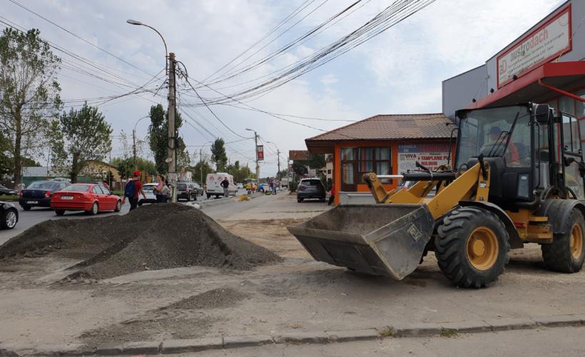 a început asfaltarea străzilor din Sectorul 5
