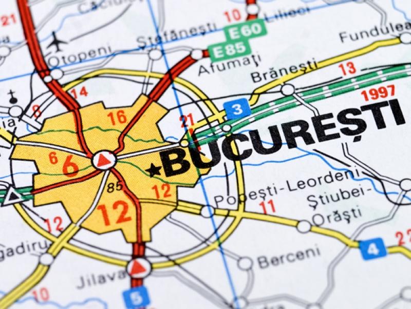 Bucureștiul în scenariul roșu