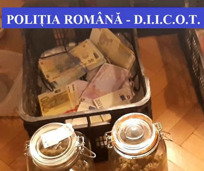 Cantitate uriașă de droguri capturată în București